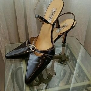 ❤GIFTED❤Isaac Mizrahi Slingback Pointed Toe Heels